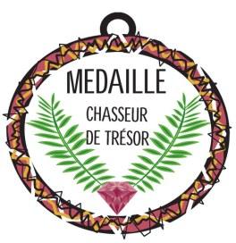 medaille chasseur de trésor